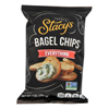Stacy's Snacks Bagel Chips - Everything - Case of 12 - 7 oz. HGR 2185932