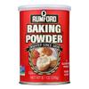 Rumford Baking Powder - Aluminum Free - Non-Gmo - Case of 12 - 8.1 oz. HGR 2187888