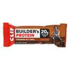 Clif Bar Builder Protein Bar - Cinnamon Nut - Case of 12 - 2.4 oz. HGR 2197002