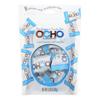 Ocho Candy Organic Coconut Mini Bars - In Dark Chocolate - Case of 12 - 3.5 oz. HGR 2202075