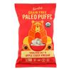 Puffs - Crunchy Him Slt and Apple Cider Vinegar - Case of 9 - 5 oz..