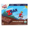 Clif Kid Zbar Chocolate Brownie - Case of 9 - 7.62 oz. HGR 2204055