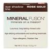 Mineral Fusion Eye Shadow Trio - Rose Gold - 0.1 oz.. HGR 2221554