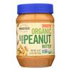 Organic Easy Spread Peanut Butter - Smooth - 18 oz..