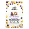 Little Secrets Candies - Dark Chocolate Sea Salted Almond Pieces - Case of 8 - 4.5 oz.. HGR 2240521