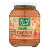 Organic Pumpkin Spiced Apple Sauce - Case of 12 - 24 oz.