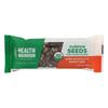 Health Warrior Pumpkin Seed Bar - Dark Chocolate Peanut - Case of 12 - 1.23 oz.. HGR 2261758
