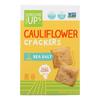 Cauliflower Crackers - Original - Case of 6 - 4 oz..