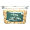 Organic Whole Cashews - Case of 12 - 9 oz..