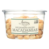 Aurora Natural Products Dry Roasted Salted Macadamias - Case of 12 - 8 oz.. HGR2289585