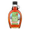 Maple Syrup - Dark Grd A Glass - Case of 12 - 8 fl oz..