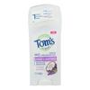 Tom's of Maine Deodorant - Coconut Lavender - Case of 6 - 2.25 oz.. HGR 2292803