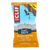 Clif Bar Sweet and Salty Energy Bar - Peanut Butter and Honey with Sea Salt - Case of 12 - 2.4 oz.. HGR 2293512