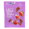 Fruit Bliss Organic Fruit and Nut Bites - Fig - Case of 6 - 4 oz.. HGR 2318582