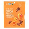 Fruit Bliss Organic Fruit and Nut Bites - Apricot - Case of 6 - 4 oz.. HGR 2318616