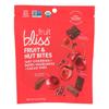 Fruit Bliss Organic Fruit and Nut Bites - Tart Cherry - Case of 6 - 4 oz.. HGR 2318632