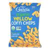 R. W. Garcia Organic Yellow Corn Chips - Case of 12 - 8.25 oz. HGR 2323897