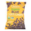 R. W. Garcia Organic Blue Corn Chips - Case of 12 - 8.25 oz. HGR 2323913