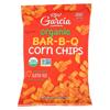 R. W. Garcia Organic Bar-B-Q Corn Chips - Case of 12 - 7.5 oz. HGR 2323962