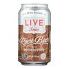 Live Soda Soda Root Beer Probiotic - Case of 4-6/24 fl oz.. HGR 2324135