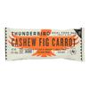 Thunderbird Real Food Bar - Cashew Fig Carrot - Case of 15 - 1.7 oz.. HGR 2330629