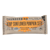 Thunderbird Real Food Bar - Hemp Sunflower Pumpkin Seed - Case of 15 - 1.7 oz.. HGR 2330694