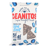 Beanitos Black Bean Chips - Sea Salt - Case of 6 - 5 oz.. HGR 2353506