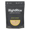 Right Rice Made From Vegetables - Lemon Pepper - Case of 6 - 7 oz. HGR 2369981