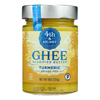 4th and Heart Ghee - Turmeric Grass Fed - Case of 6 - 9 oz.. HGR 2387405