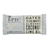 Epic Performance Bar Coconut Lime - Case of 9 - 1.87 oz.. HGR 2411486