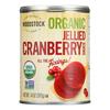Organic Cranberry Sauce - Jellied - Case of 12 - 14 oz..