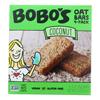 Bobo's Oat Bars Oat Bar - Coconut - Case of 6 - 4 pk HGR 2465409