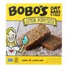 Bobo's Oat Bars Oat Bar - Lemon Poppyseed - Case of 6 - 4 pk HGR 2465417