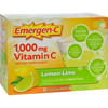 Emergen-C Vitamin C Fizzy Drink Mix Lemon Lime - 1000 mg - 30 Packets HGR 0351056
