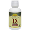 Vitamins OTC Meds Vitamin D: Dynamic Health - Liquid Vitamin D3 Cherry - 16 fl oz