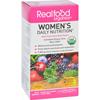 Realfood Organics Daily Nutrition - Organic - Womens - 120 Tablets HGR 0655670