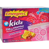 Energy Drink Medicines: Alacer - Emergen-C Kidz Vitamin C Fizzy Drink Mix Fruit Punch - 250 mg - 30 Packets