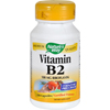 Nature's Way Vitamin B-2 - 100 mg - 100 Capsules HGR 0912881