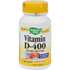 Vitamins OTC Meds Vitamin D: Nature's Way - Vitamin D-400 - 400 IU - 100 Capsules