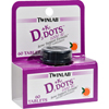 Vitamins OTC Meds Vitamin D: Twinlab - D3 plus K2 Dots Tangerine - 1000 IU - 60 Tablets