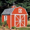 Handy Home Products Premier Series - Berkley 10' x 10' Storage Building Kit HHS 18419-2