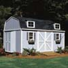 Handy Home Products Premier Series - Berkley 10' x 16' Storage Building With Floor Kit HHS 18515-1