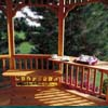 Handy Home Products Gazebo Bench and Table Kit HHS 19575-4