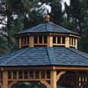 Handy Home Products Monterey 12' x 16' Gazebo - Second Tier Roof HHS 19565-5