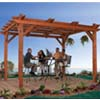 Handy Home Products Montego Bay 10 x 12 Pergola HHS 19489-4