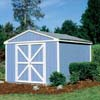 Handy Home Products Premier Series - Somerset 8' x 10' Storage Building With Floor Kit HHS 18402-4