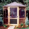 Handy Home Products Monterey 12 x 16 Gazebo - Screens with Door HHS 19913-4