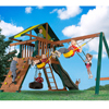 Backyard Play Systems Wooden Playset - with Trapeze Bar HHS 4017