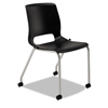 HON Motivate 4-Leg Stack Chair Upholstered Seat - Set of 2 HON MG201CU10