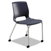 HON Motivate 4-Leg Stack Chair Upholstered Seat - Set of 2 HON MG201CU90